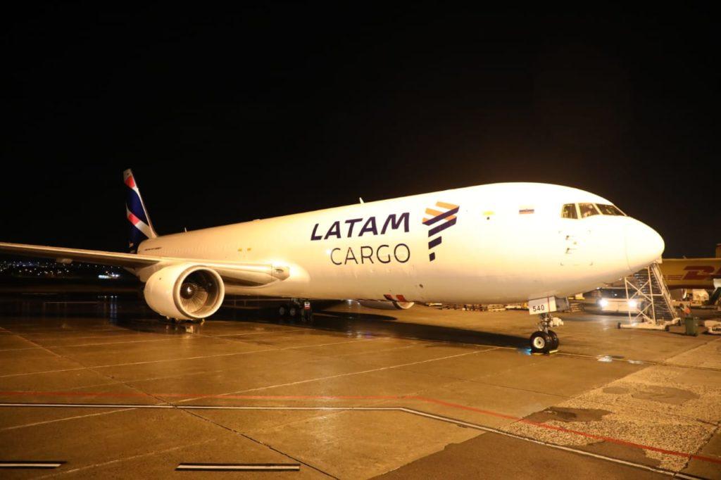 carga aérea LATAM Cargo