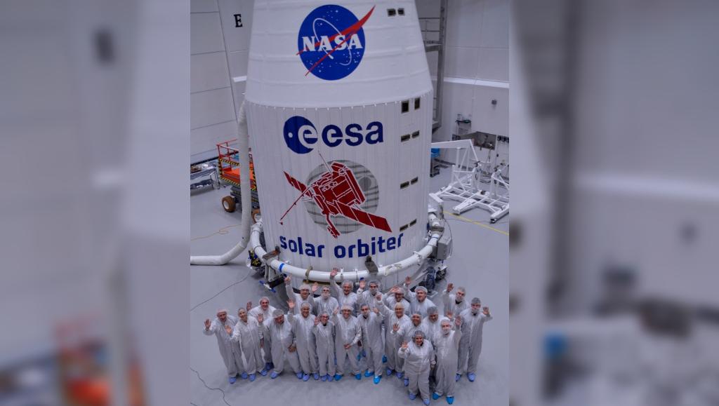 Solar Orbiter lanzamiento