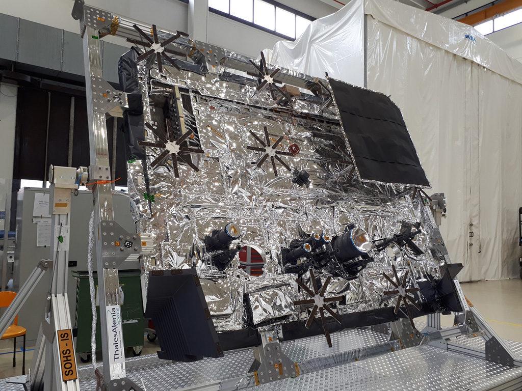 Escudo térmico. Solar Orbiter