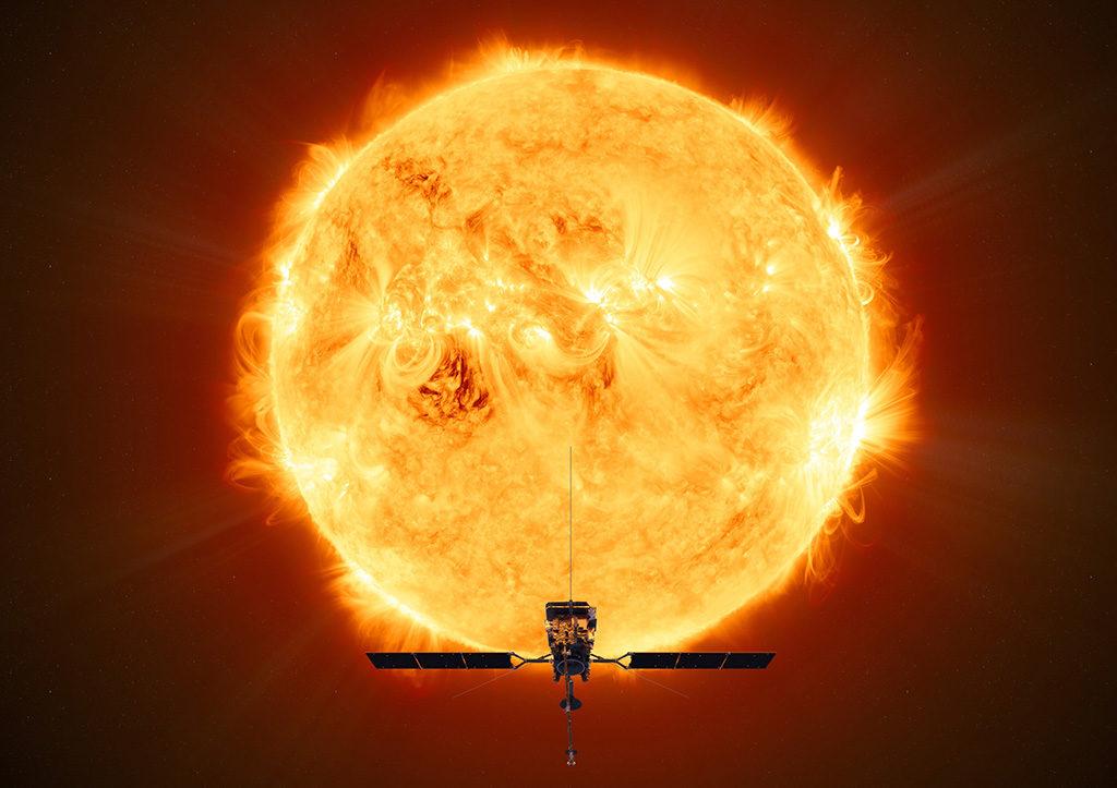 La Solar Orbiter de la ESA ya ha despegado y rota alrededor del sol