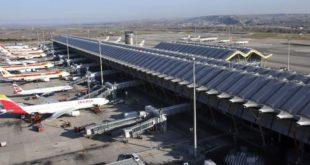 Madrid-Barajas dron