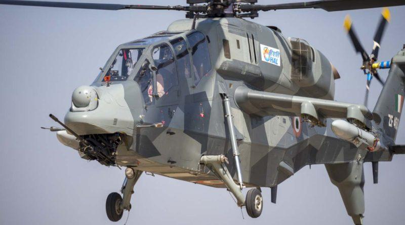 nuevo hangar para el helicóptero de combate ligero HAL