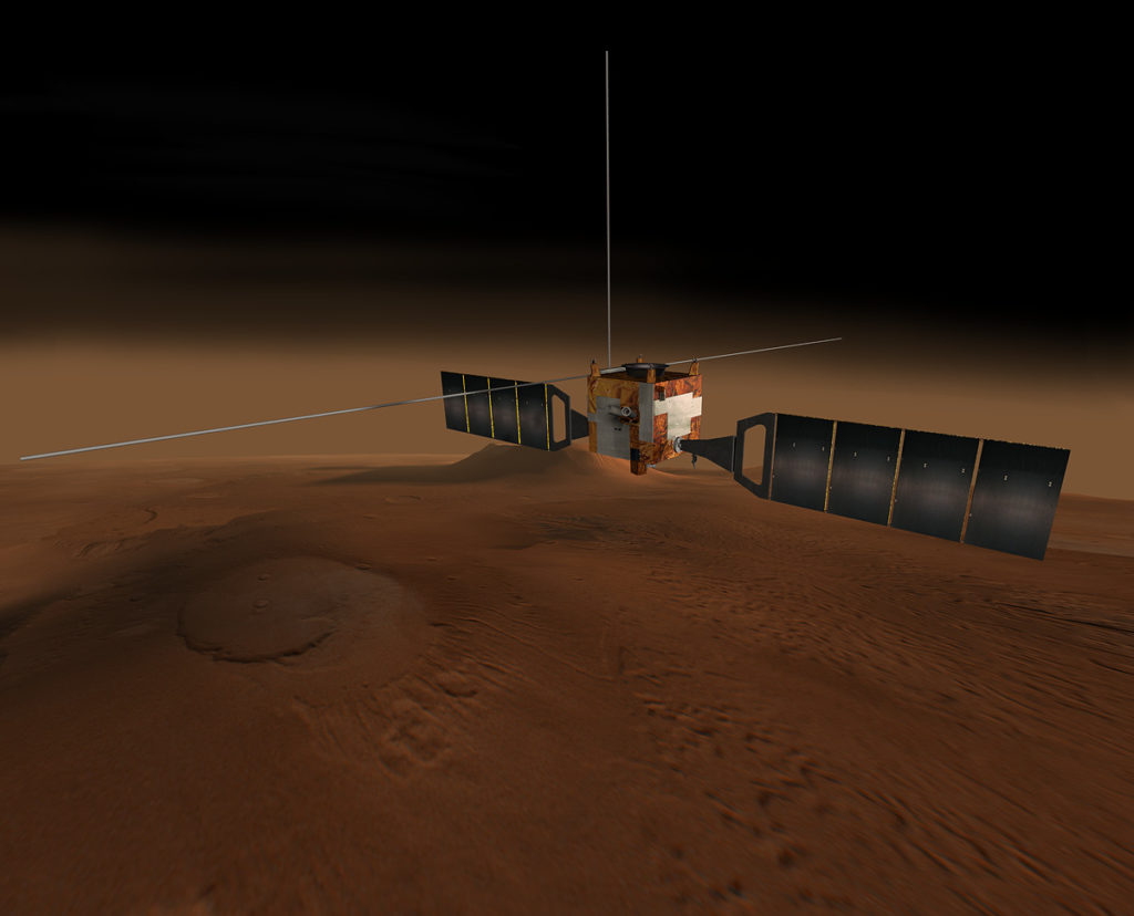 ESA NASA MARS Express