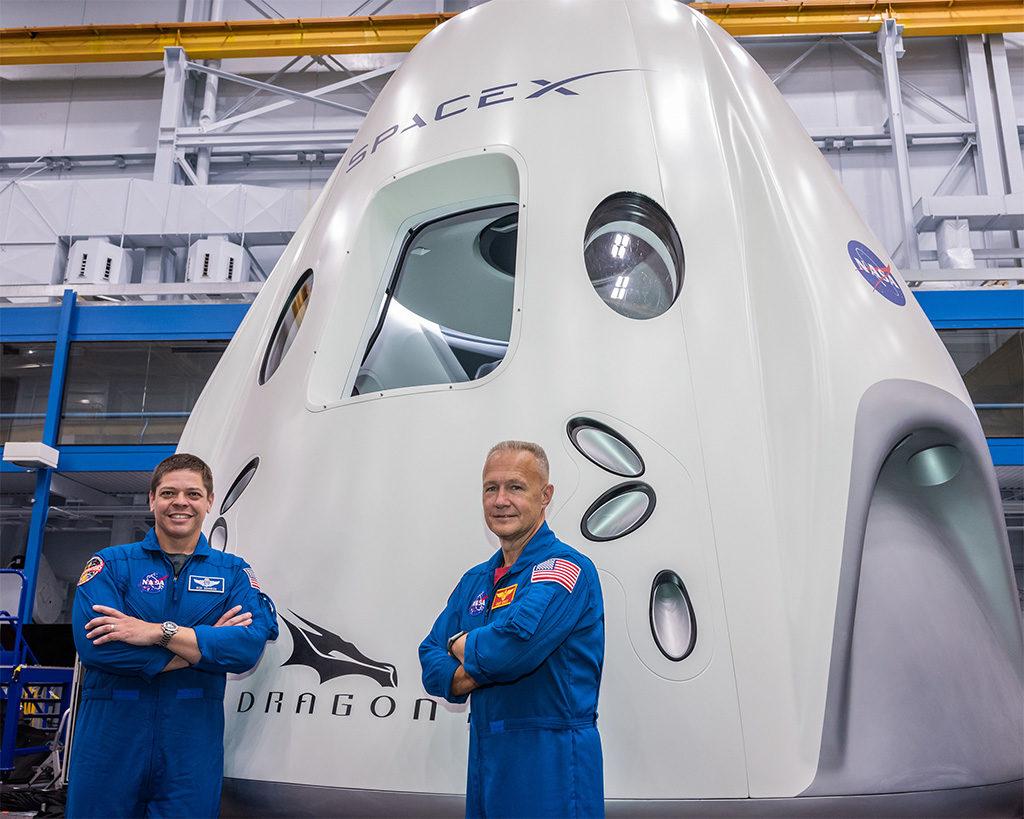 Space X Demo 2 mayo