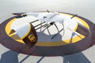 UPS Flight Forward y Wingcopter