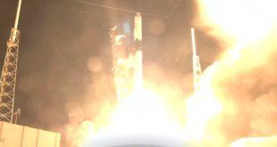 capsula Dragon de spaceX rumbo a la ISS