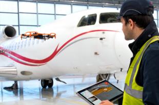 Dassault falcon rpas inspeccionar inspeccion