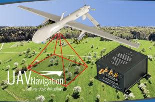su proyecto de I+D, Sistema de Navegación por Visión (Visual Navigation System, VNS) un sistema que reduce en gran medida el error de posición acumulado durante la navegación sin señal GNSS, lo que comúnmente se conoce como Navegación Inercial UAV