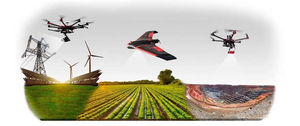 Teledetección Inteligencia artificial explotación agrícola drones