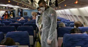 pasajeros y aeropuertos Covid19