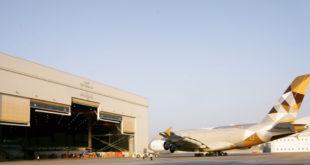 mantenimiento de aeronaves Etihad