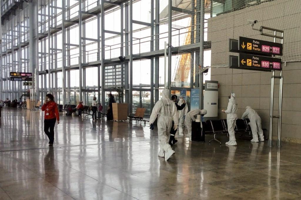 pérdida de pasajeros en marzo por covid