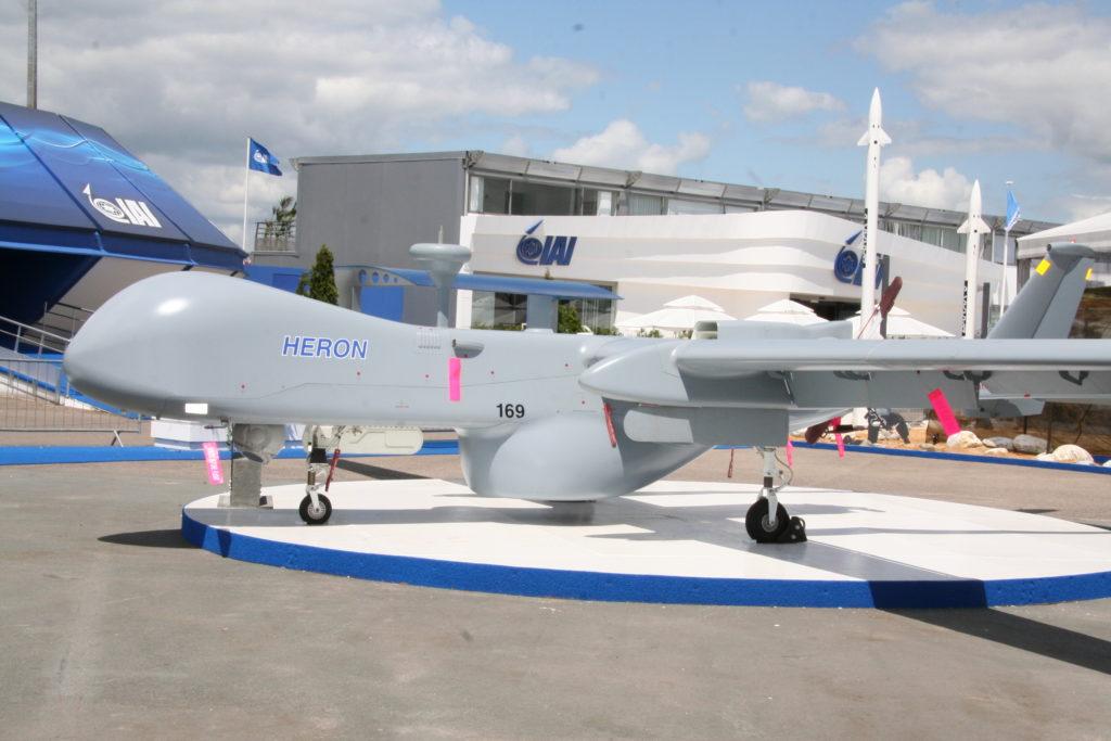 Israel Heron UAV