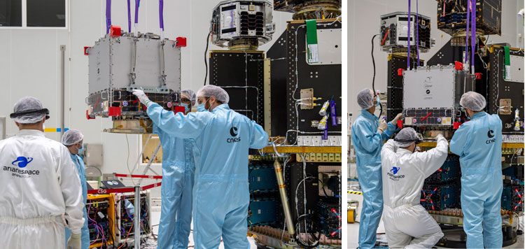 UPMSat-2  3Cat-5 satélites españoles y catalanes