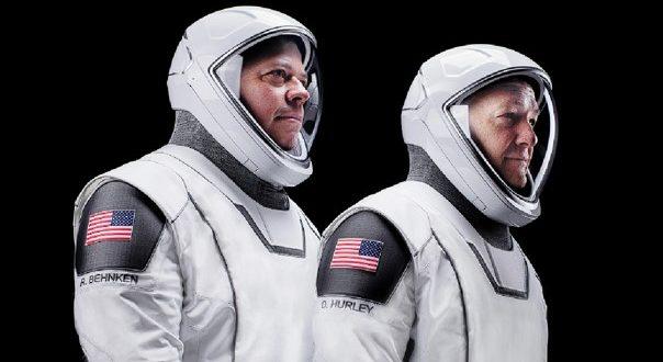astronautas crew dragon