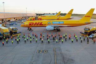 Boeing 757F personalizado DHL Express
