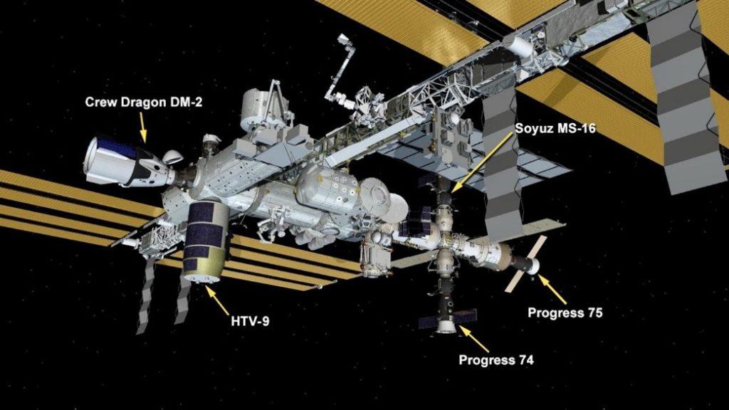astronautas Robert Behnken y Douglas Hurley