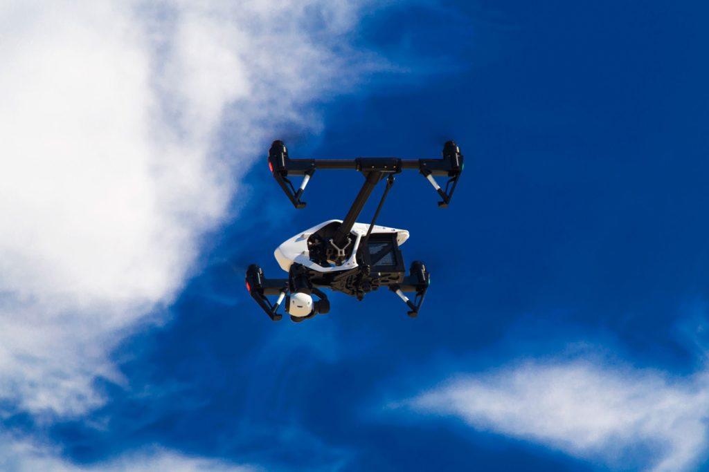 Rotterdam Port Drone