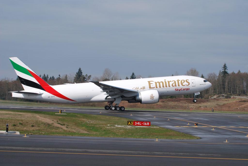Emirates SkyCargo B-777-F
