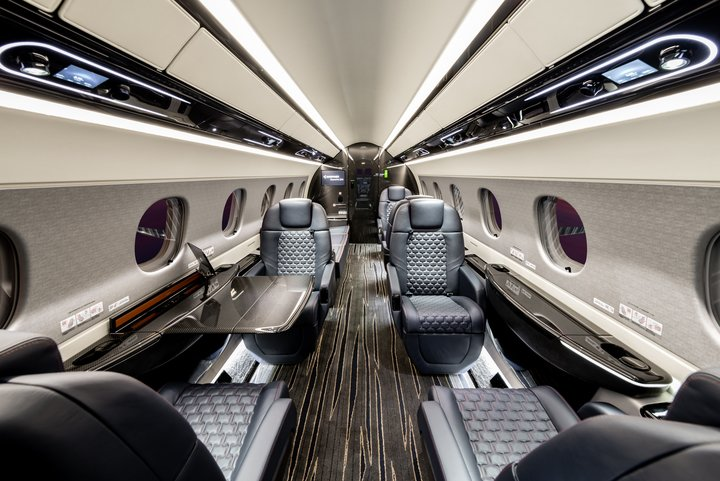 Cabina del Embraer Praetor 600