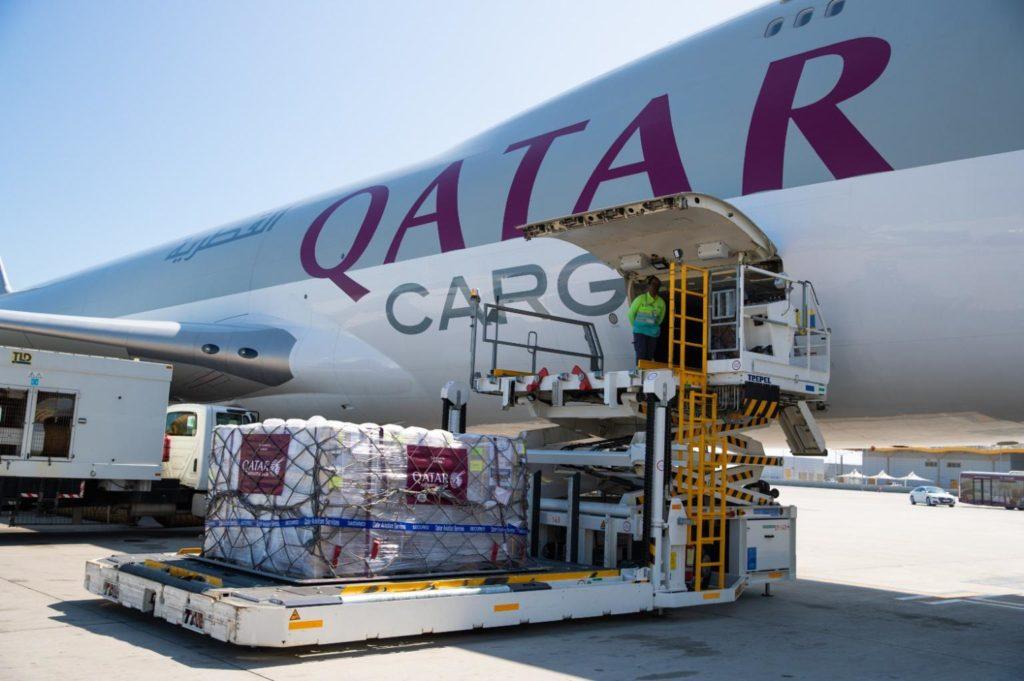 Qatar aerolínea de carga