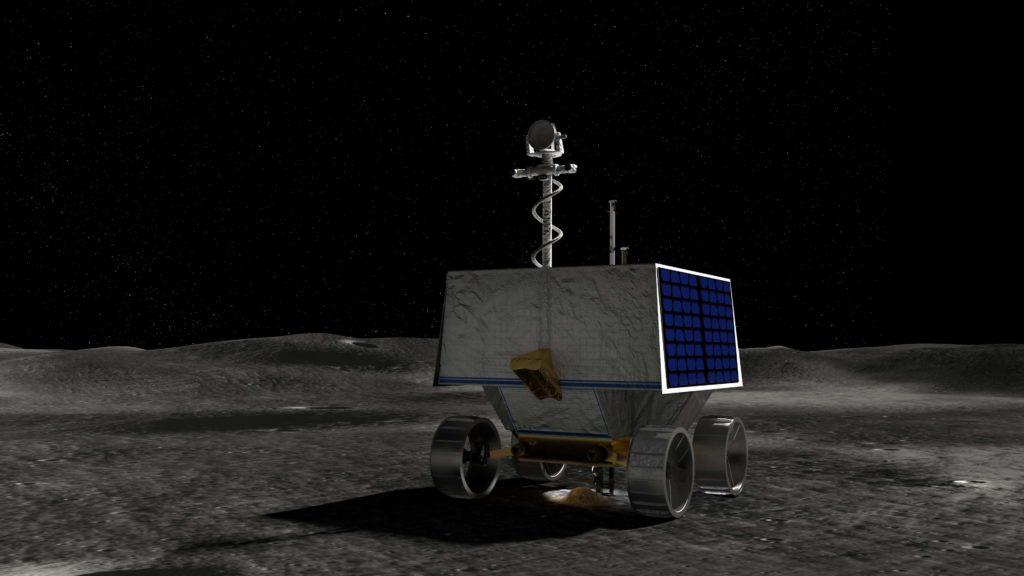 Robot lunar VIPER . Gráfico: NASA