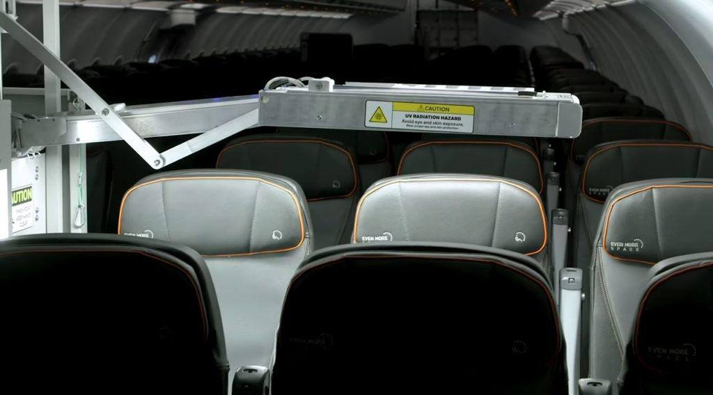 sistema de cabina UV