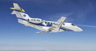 Medevac PC-24 Organización Sueca de Ambulancias Aéreas