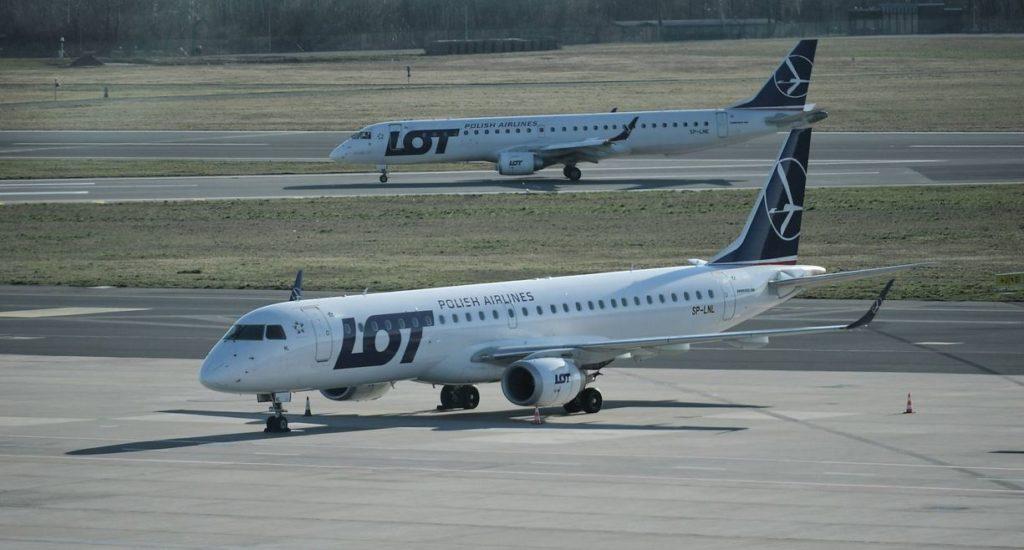 Embraer 195 de LOT