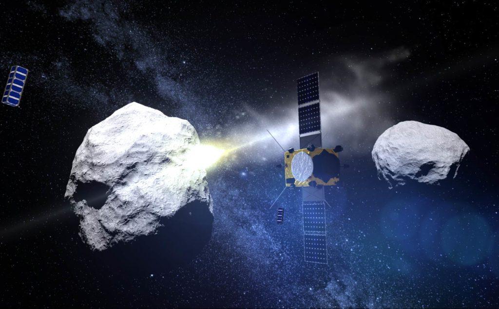 hera asteroide esa mision