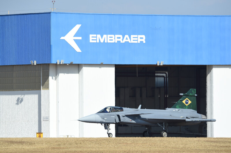 F-39 Gripen de la Fuerza Aérea Brasileña (FAB)