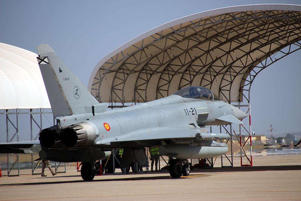 Eurofighter del Ala 11