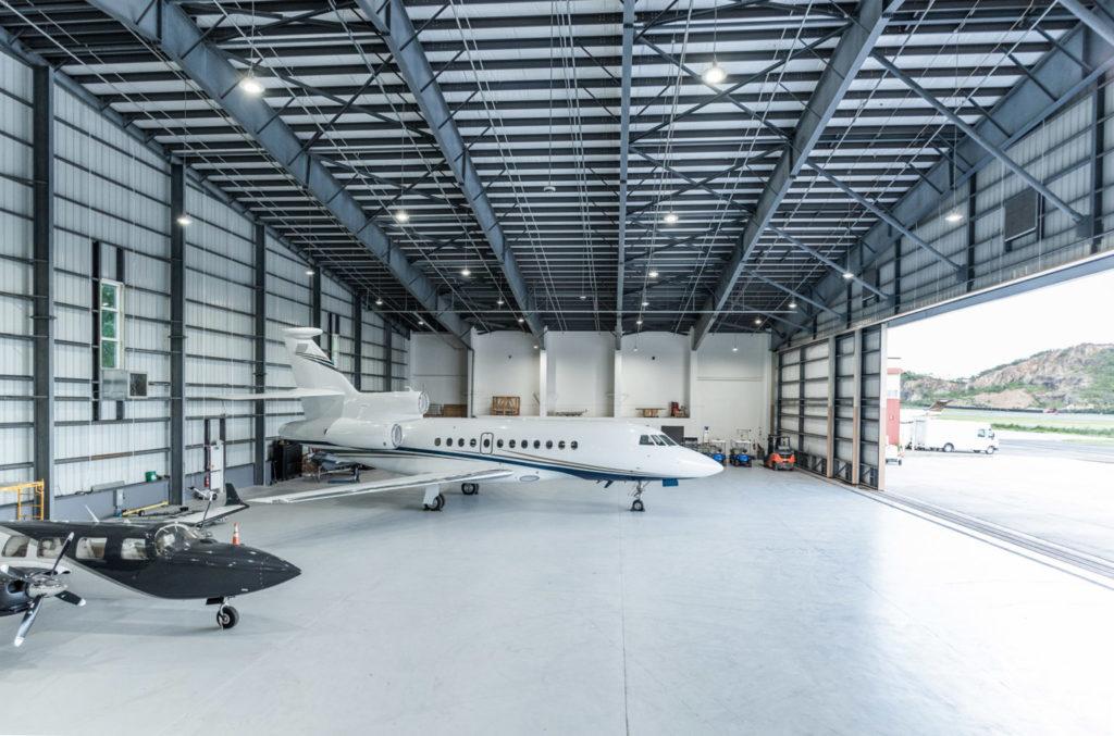 Hangar en St. Thomas