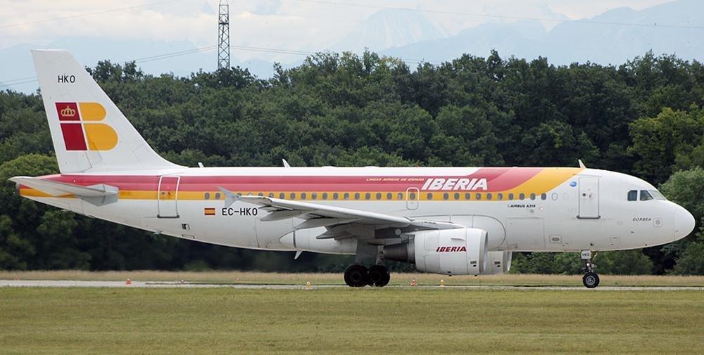 Iberia. A319