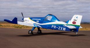 avión de demostración totalmente eléctrico de Embraer