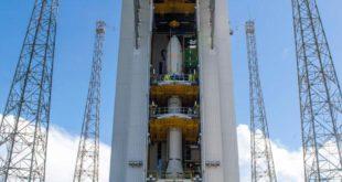lanzador Vega y el satélite español Ingenio