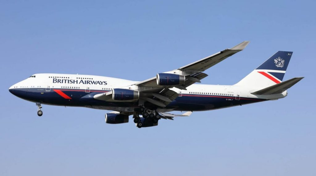 British Airways 747 retro
