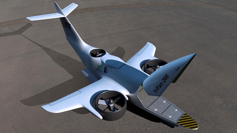 XTI Aircraft  Trifan200