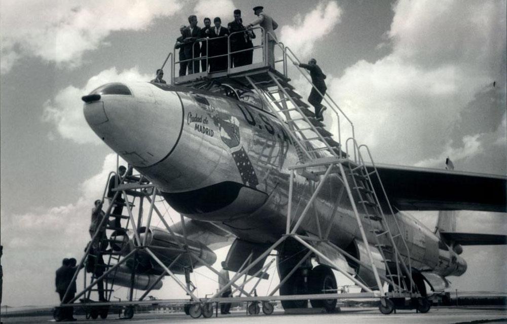 Foto: Torrejon during the Cold War.. Guerra Fría