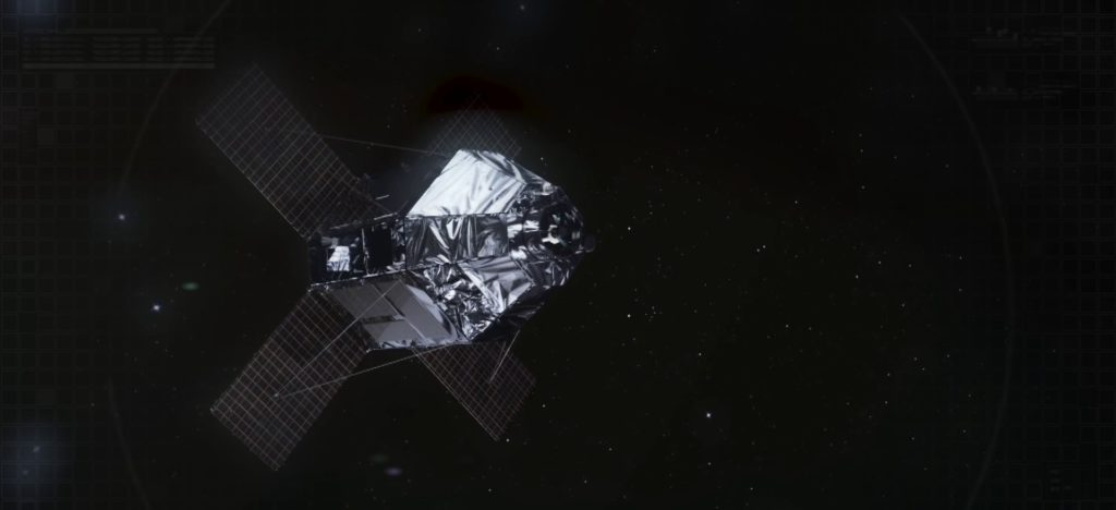 Satélite CSO-2.  Gráfico: Thales Alenia Space