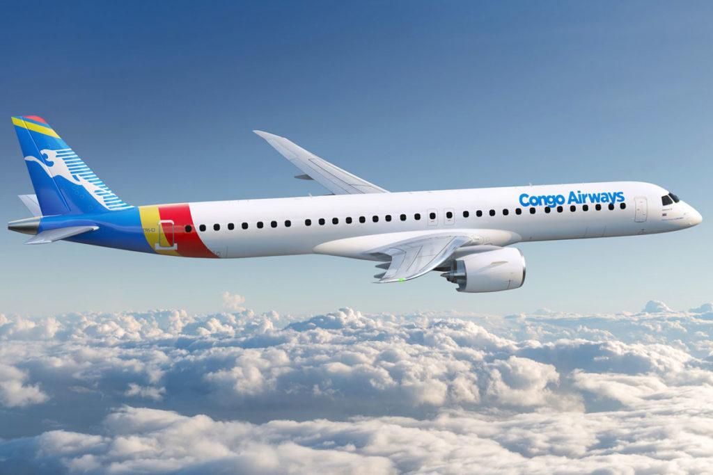 Embraer E195-E2 Congo Airways