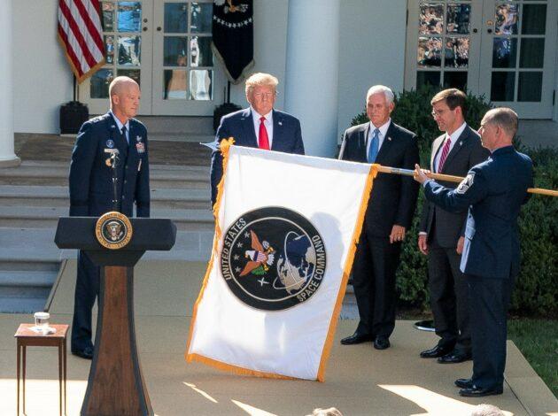 Trump Biden NASA Fuerza Espacial