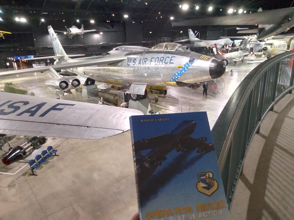 Libro Operación Reflex, el B-47 en acción