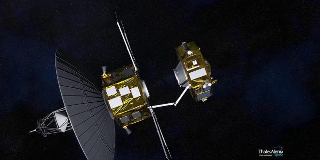 demostración en órbita de vehículos espaciales de servicio