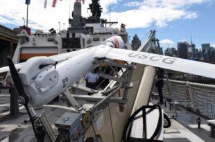 La Guardia Costera de los EE.UU. prueba UAS