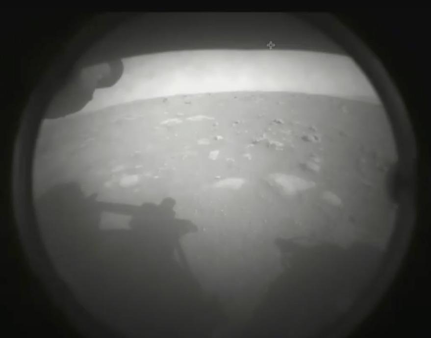 Imagen tomada por el Rover Perseverance sobre Marte. Foto. NASA-JPL