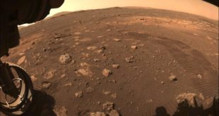 primeros movimientos del Rover Perseverance