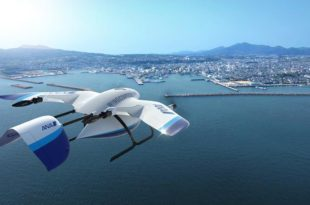 ANA y Wingcopter drones