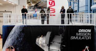 Simulación para la misión Orion
