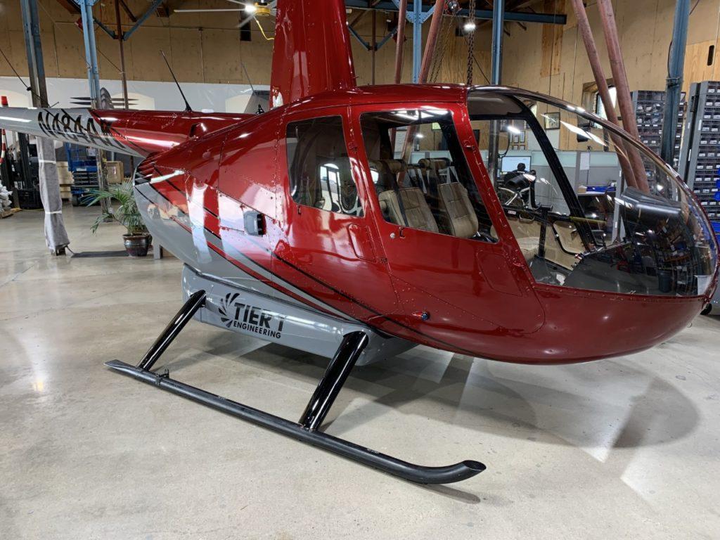 Robinson R44 eléctrico